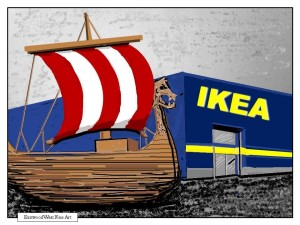 IKEA illustration Finished